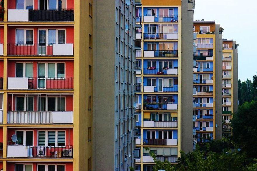 osiedle z blokami